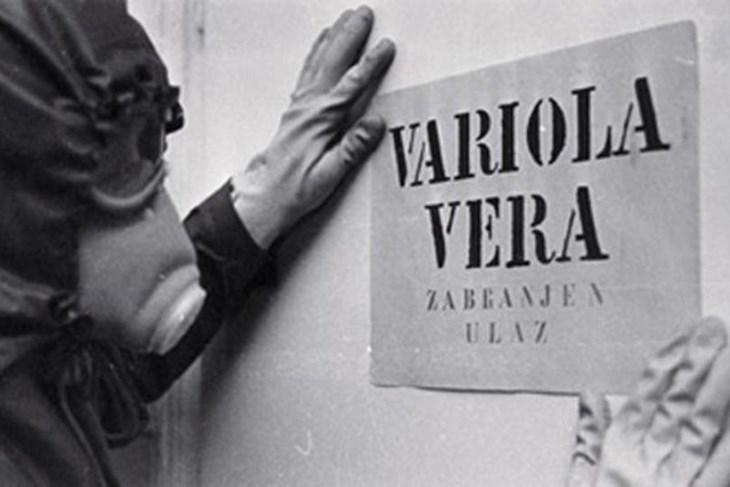 Small pox epidemic in Yugoslavia in 1972