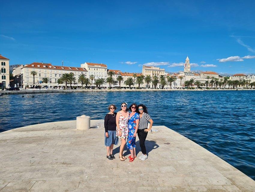 Women in Split, Croatia