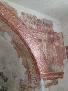 Frescoes in Hum, Istria, Croatia