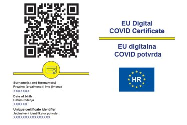 How to get the COVID-19 passport (EU digital certificate) in Croatia