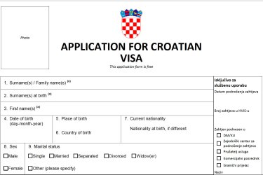 All types of available visas for entry into Croatia: Guide for 2021