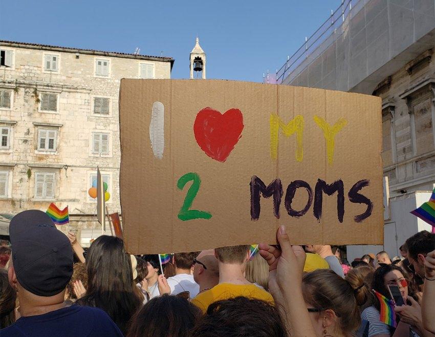 Split Pride Parade in 2019