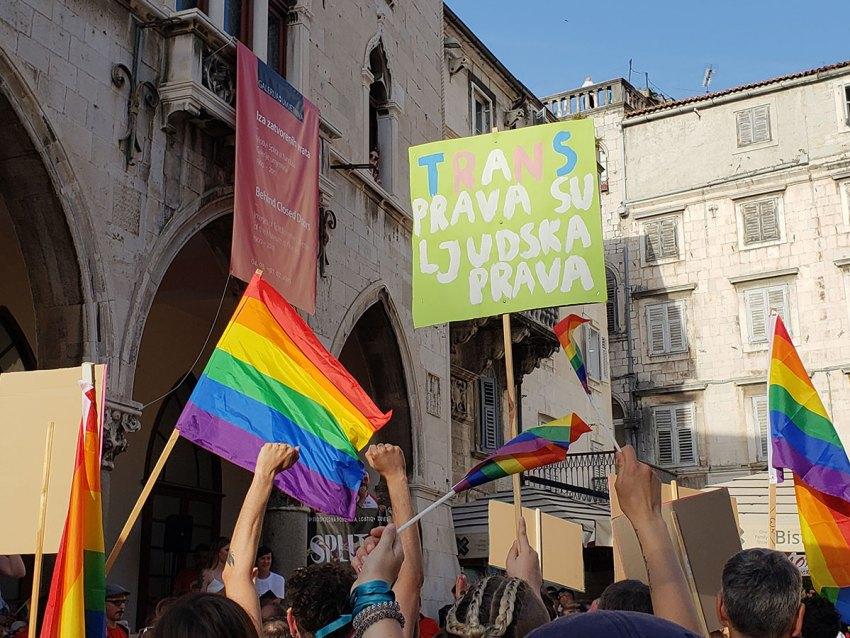 Split Pride Parade in 2019 - Croatia