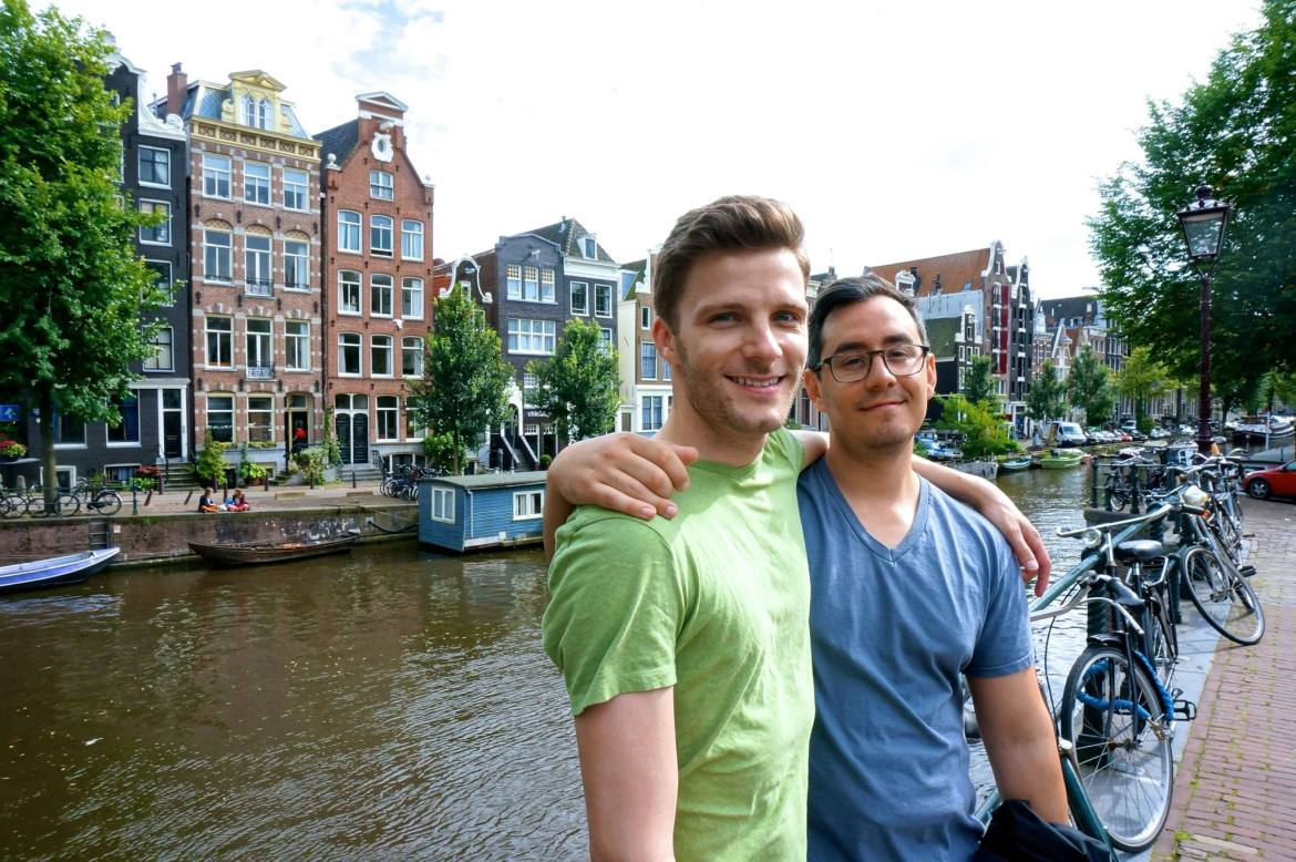 Jake & Rich in Amsterdam