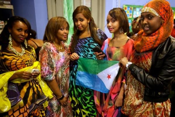 Beautiful Djibouti Girls