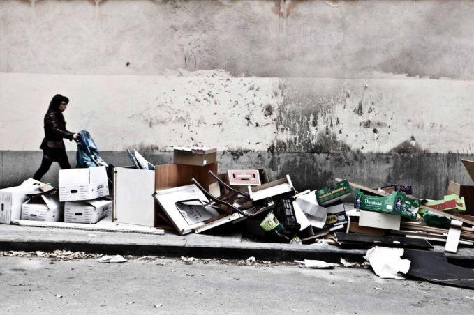 garbage strike madrid austerity chronicles