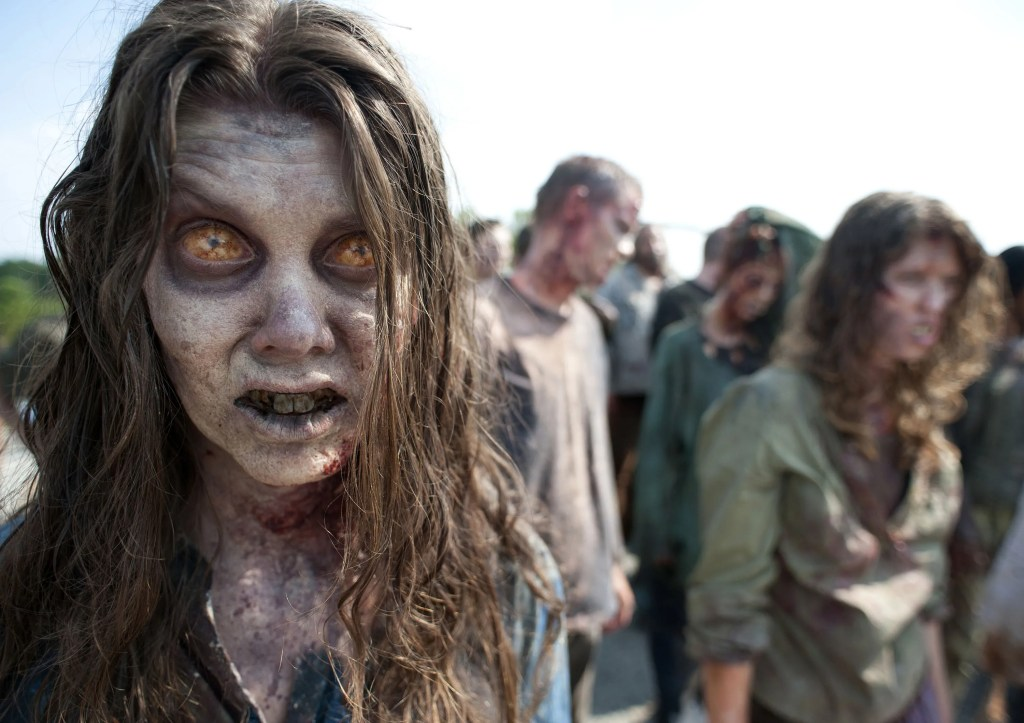 The zombies are coming. I'm pretty sure that's Ana Botella there on the left.