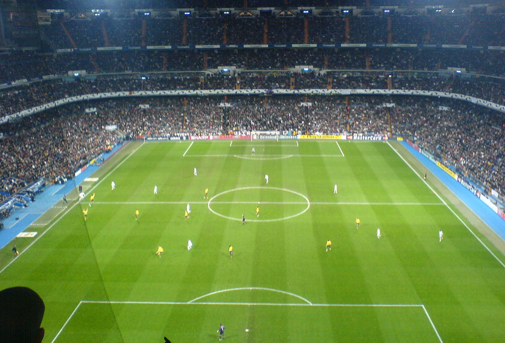 going to a real madrid match