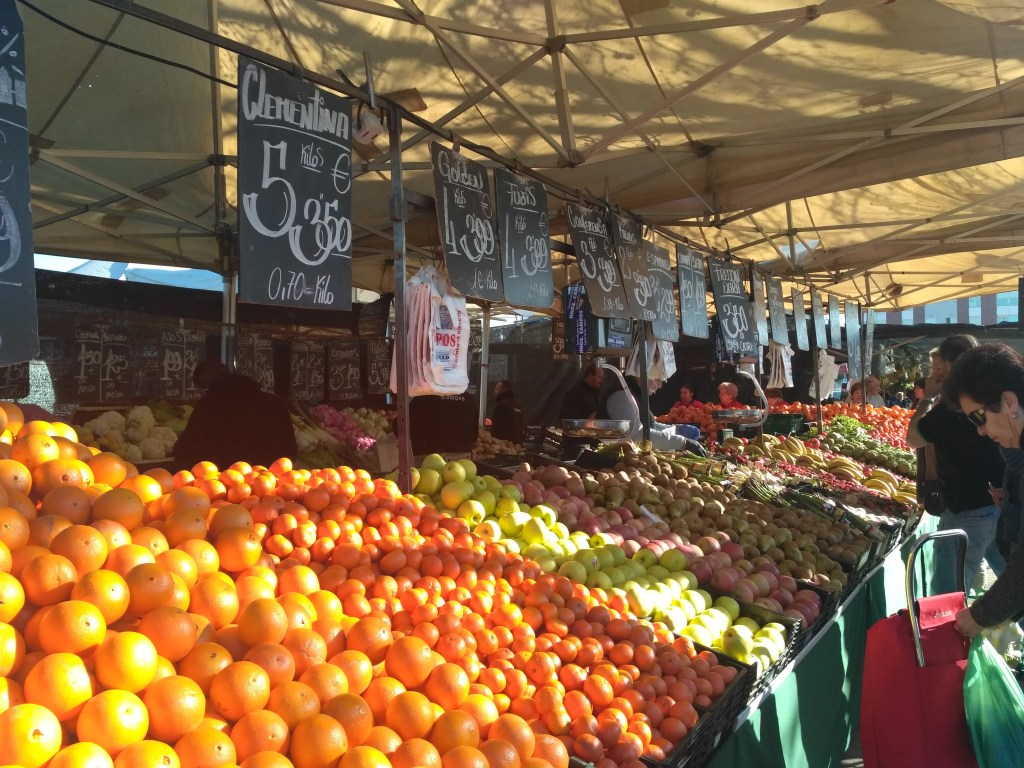 culture shock in Spain while buying food