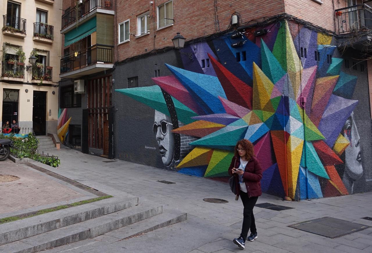 graffiti and street art in madrid