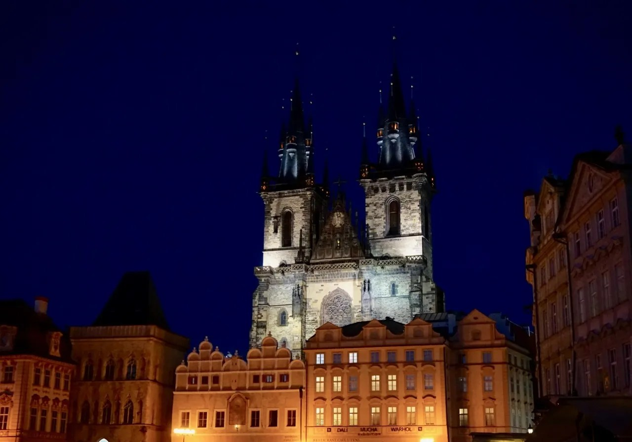 church in prague old town square
