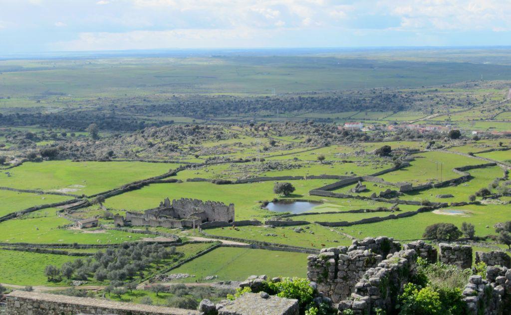 landscape in trujillo spain