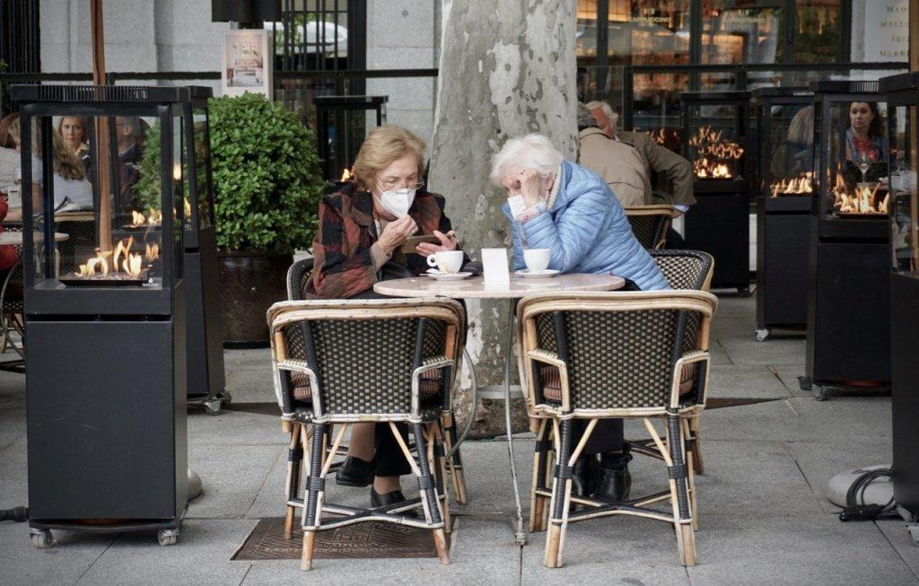 old ladies in madrid