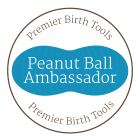 Heidi Duncan is a Peanut Ball Ambassador, spreading the word on this helpful birth tool