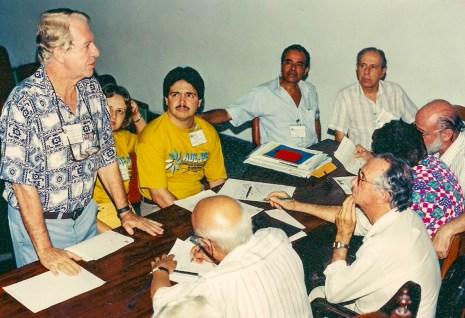 Assembléia da Abrajee, no Rio de Janeiro, para mudança de denominação e eleição da primeira diretoria da Abrade.