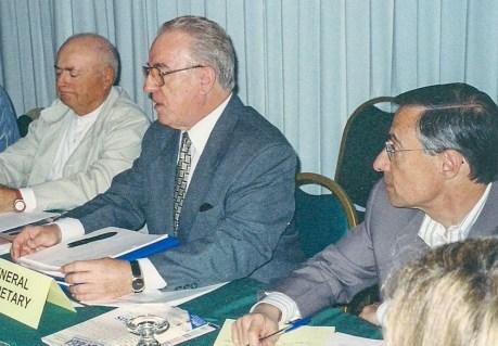 Nestor Masotti, ex-presidente da USE, União das Sociedades Espíritas do Estado de São Paulo e da FEB, Federação Espírita Brasileira.
