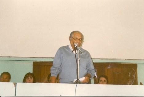 Cirso Santiago, ex-presidente do Lar da Criança Emmanuel e da Editora e Jornal Correio Fraterno do ABC.
