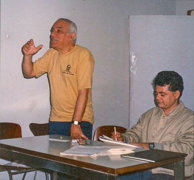 Assembléia de fundação da Associação de Jornalistas Espíritas de São Paulo, 1989.