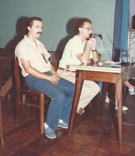 Simpósio sobre Religião e Espiritismo, Santos, SP, 1982.