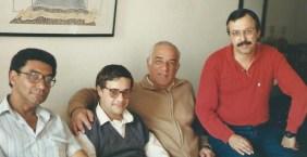 Jorge Rizzini, Wilson Garcia e Altamirando Carneiro.