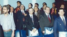 Wilson Garcia e Eduardo Carvalho Monteiro em evento na Maçonaria.