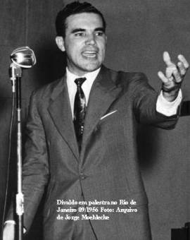 Divaldo Franco no Rio de Janeiro, 1956