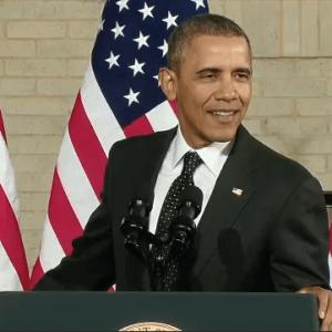 President unveils $302 billion highway funding plan, presses Congress to act