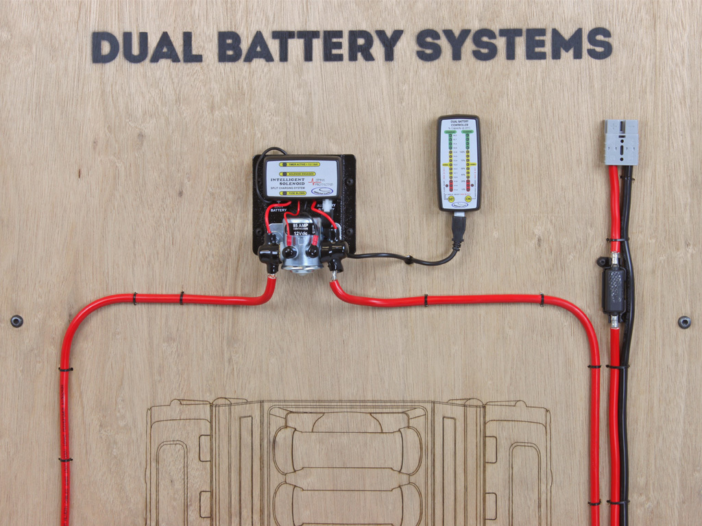 sca dual battery kit wiring diagram face piercing and names discovery 4 bracket front runner