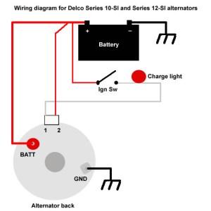 The Delco 10SI and 12SI Alternators