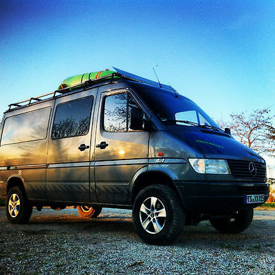 SOLD – Mercedes Sprinter 4×4 Camper – UK/Germany