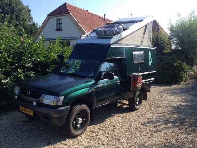 SOLD – Fully prepped Toyota Hilux For Sale – Netherlands