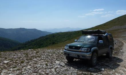 Toyota Hilux with many extras – France/UK