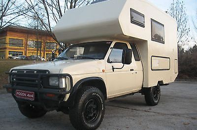 SOLD – Nissan Pickup With Full Coachbuilt Camper Conversion – Only €8000 – Slovenia