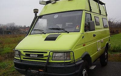 Restored Iveco Daily 4×4 Camper – Germany – €22,500