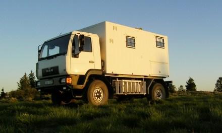 Expedition camper MAN 10.220 4×4 Truck – German registered – €99,000