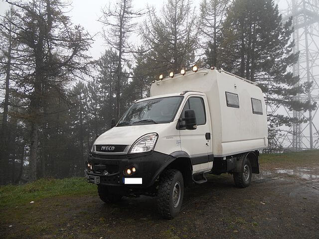 Sold - Iveco Daily 4x4 55S18W Left hand drive - UK - £45,000