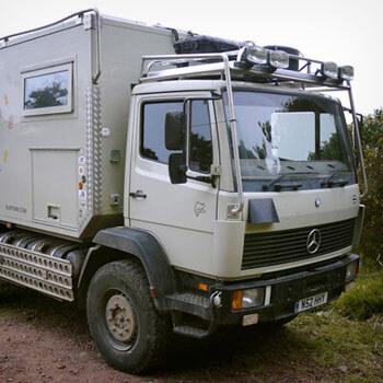 Mercedes 1124af 1995 Overland Camper - UK - £47,500