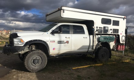 Dodge Ram 2500 5.7 & Palomino Backpack Camper – Chile – $50,000 US