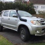 Toyota Hilux Invincible 4×4 3.0 – United Kingdom – £6250