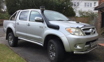 Toyota Hilux Invincible 4×4 3.0 – United Kingdom – £6250