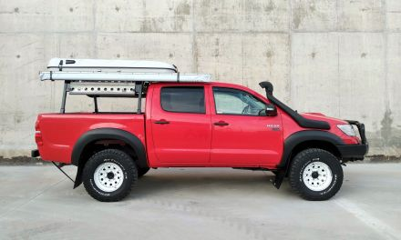 Toyota Hilux 2.5D4D VX Expedition – Spain – €29,500