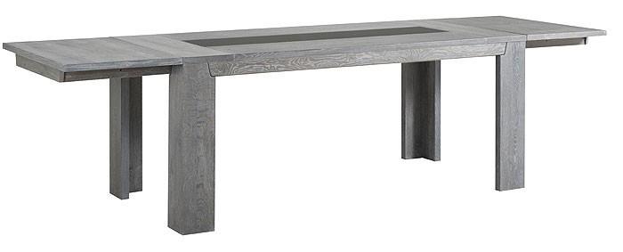Esstisch Holztisch 190244298x78x90cm Eiche grau