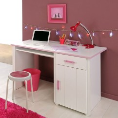 2 Sitzer Sofa Jugendzimmer Art Van Sleeper Full Schreibtisch Beauty 8, 121x77x65cm Weiß Rosa, Bürotisch ...