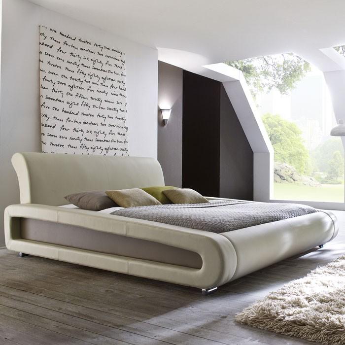 Polsterbett Komplett Blain Bett X Beige Lattenrost Matratzen Bild
