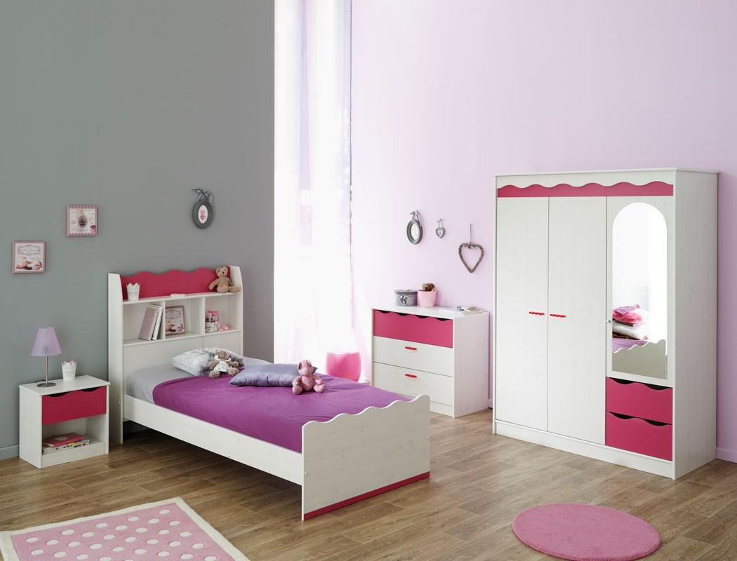 Jugendbett 90x200 Cm Mdchen Wei Pink Mdchenzimmer