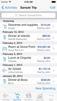 Spending List