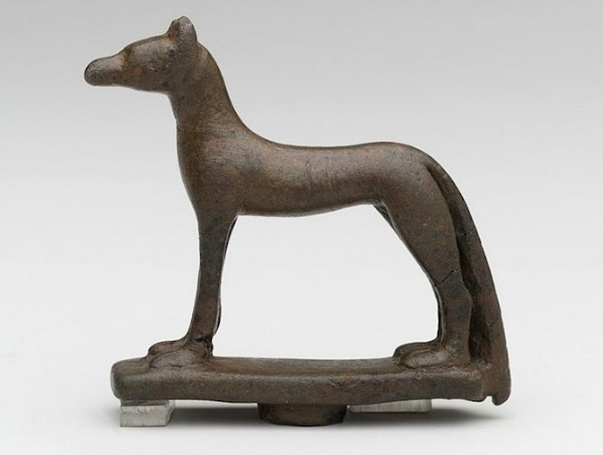 Ancient Egyptian Dogs - Wepwawet Statue
