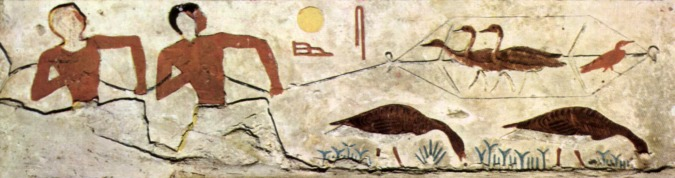 Ancient Egyptian Entertainment - Fowling