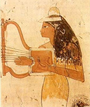 Ancient Egyptian Music. The Lyre