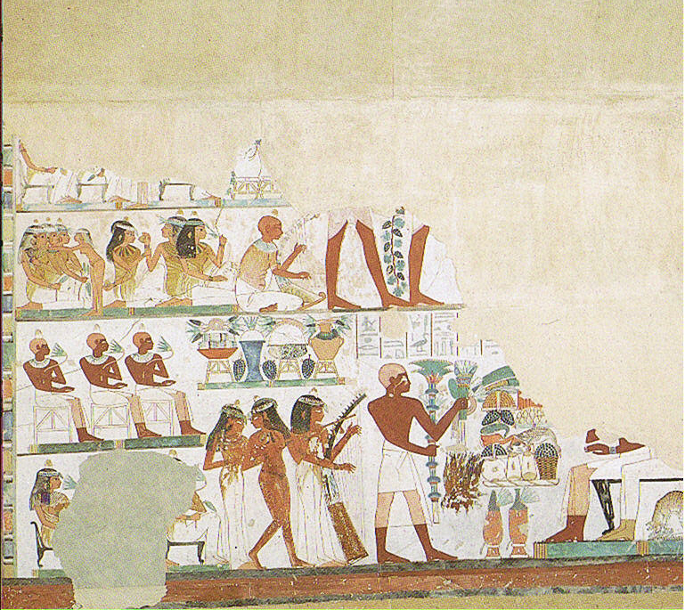 Ancient Egyptian Calendar: Beautiful Festival of the Valley, Tomb of Nakht